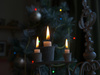 candles in candelabra - photo/picture definition - candles in candelabra word and phrase image