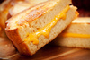 toasted cheese sandwich - photo/picture definition - toasted cheese sandwich word and phrase image