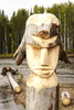 wooden idol - photo/picture definition - wooden idol word and phrase image