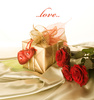 Valentine gift - photo/picture definition - Valentine gift word and phrase image
