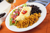 burrito plate - photo/picture definition - burrito plate word and phrase image