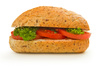 tomato sandwich - photo/picture definition - tomato sandwich word and phrase image