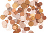 copper coins - photo/picture definition - copper coins word and phrase image
