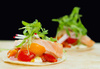 salmon taquito wraps - photo/picture definition - salmon taquito wraps word and phrase image
