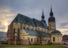 Saint Nicolas church in Slovakia - photo/picture definition - Saint Nicolas church in Slovakia word and phrase image