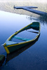 sunken boat - photo/picture definition - sunken boat word and phrase image