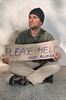 beggar - photo/picture definition - beggar word and phrase image