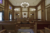 historic courtroom - photo/picture definition - historic courtroom word and phrase image