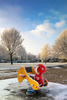 frozen playground - photo/picture definition - frozen playground word and phrase image