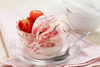 strawberry ice-cream - photo/picture definition - strawberry ice-cream word and phrase image