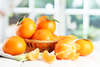 Clementine basket - photo/picture definition - Clementine basket word and phrase image