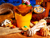 Halloween treats - photo/picture definition - Halloween treats word and phrase image