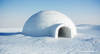Igloo - photo/picture definition - Igloo word and phrase image