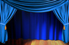 curtain - photo/picture definition - curtain word and phrase image