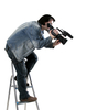 cameraman - photo/picture definition - cameraman word and phrase image