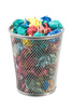 waste paper basket - photo/picture definition - waste paper basket word and phrase image