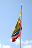 Colombain flag - photo/picture definition - Colombain flag word and phrase image