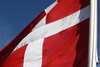 Danish flag - photo/picture definition - Danish flag word and phrase image