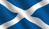 Scottish flag - photo/picture definition - Scottish flag word and phrase image