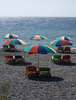 beach umbrellas - photo/picture definition - beach umbrellas word and phrase image