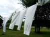clothes line - photo/picture definition - clothes line word and phrase image