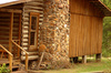 log cabin - photo/picture definition - log cabin word and phrase image