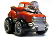 toy truck - photo/picture definition - toy truck word and phrase image