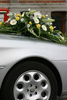 wedding car - photo/picture definition - wedding car word and phrase image
