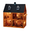 toy house - photo/picture definition - toy house word and phrase image