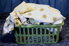 laundry basket - photo/picture definition - laundry basket word and phrase image