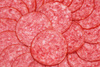 salami pizza - photo/picture definition - salami pizza word and phrase image