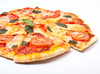 margerita pizza - photo/picture definition - margerita pizza word and phrase image