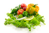 Vegetables - photo/picture definition - Vegetables word and phrase image