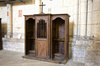 confessional - photo/picture definition - confessional word and phrase image