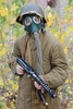 gas mask - photo/picture definition - gas mask word and phrase image