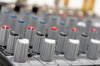 audio control console - photo/picture definition - audio control console word and phrase image