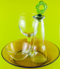 glassware - photo/picture definition - glassware word and phrase image