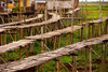 bamboo bridges - photo/picture definition - bamboo bridges word and phrase image