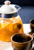 fruit tea - photo/picture definition - fruit tea word and phrase image