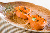 salmon sushi - photo/picture definition - salmon sushi word and phrase image
