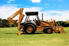 backhoe - photo/picture definition - backhoe word and phrase image