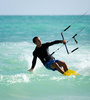 kite surfing - photo/picture definition - kite surfing word and phrase image