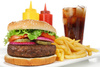 Hamburger - photo/picture definition - Hamburger word and phrase image