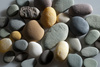 river stones - photo/picture definition - river stones word and phrase image