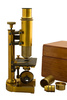 antique microscope - photo/picture definition - antique microscope word and phrase image