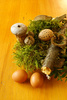 Easter decoration - photo/picture definition - Easter decoration word and phrase image