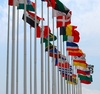 flags - photo/picture definition - flags word and phrase image