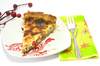 asparagus quiche - photo/picture definition - asparagus quiche word and phrase image