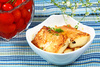 fried tofu - photo/picture definition - fried tofu word and phrase image