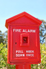 fire alarm - photo/picture definition - fire alarm word and phrase image